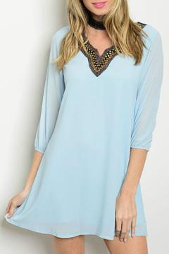 Lux Boutique Sky Tunic Dress - Product List Image