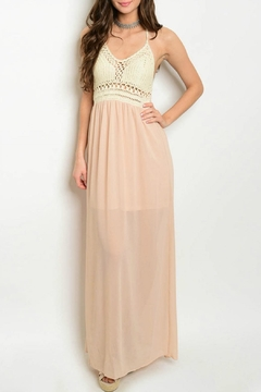 Shoptiques Product: Skylar Macrame Maxi Dress