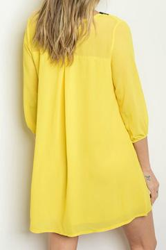 Lux Boutique Yellow Tunic Dress - Alternate List Image