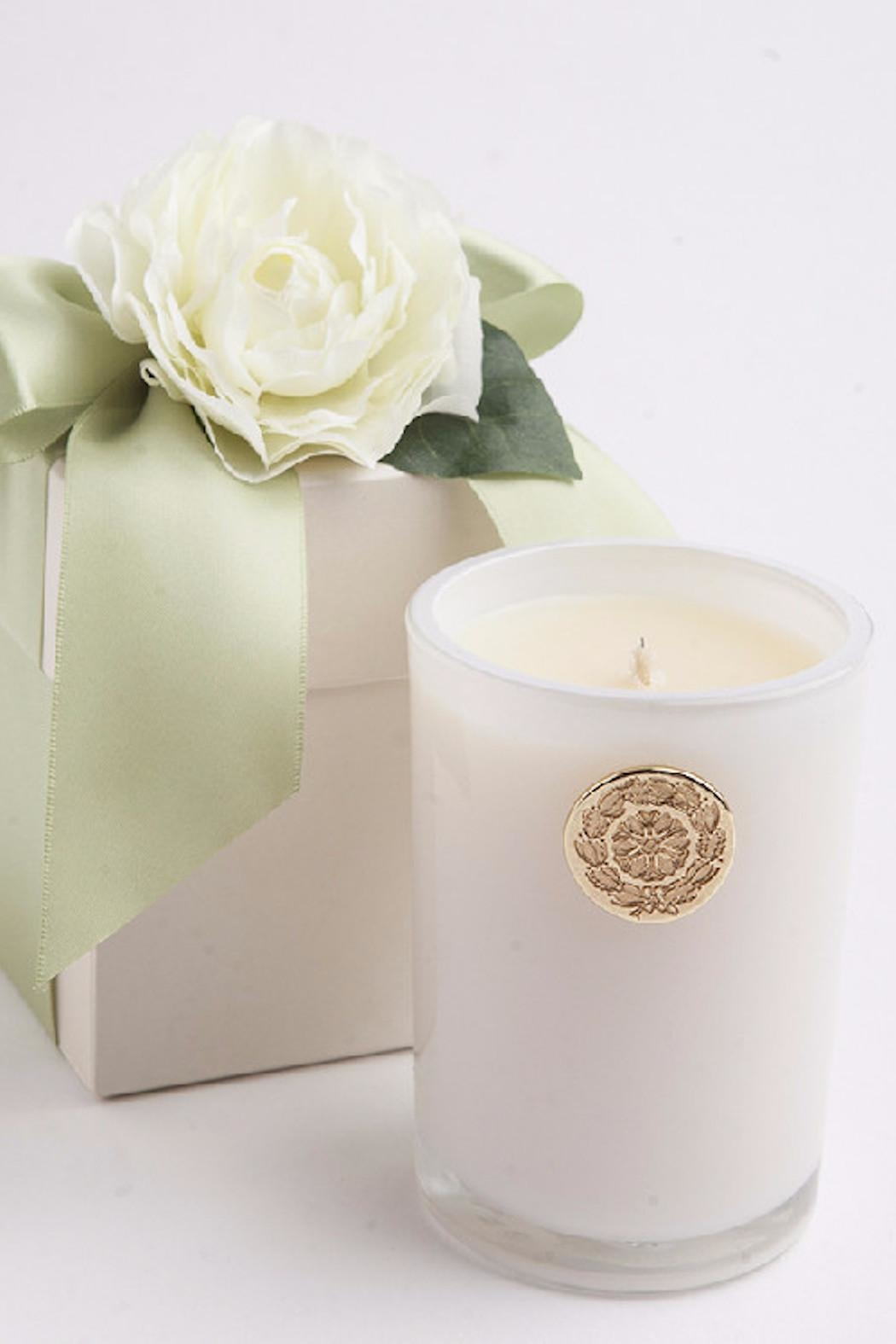 Lux fragrances jasmine candle flower box from new jersey by meli lux fragrances jasmine candle flower box front cropped image izmirmasajfo