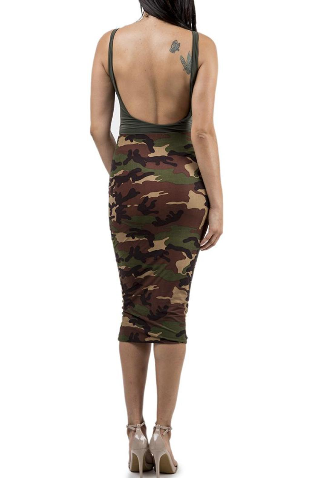 2deedfc4237c Lux LA Camo Pencil Skirt from Toronto by Runway Luxe — Shoptiques