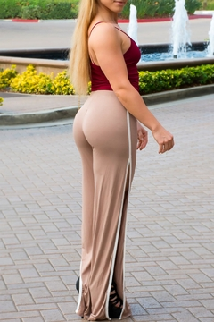 Shoptiques Product: Pants Tan Slits
