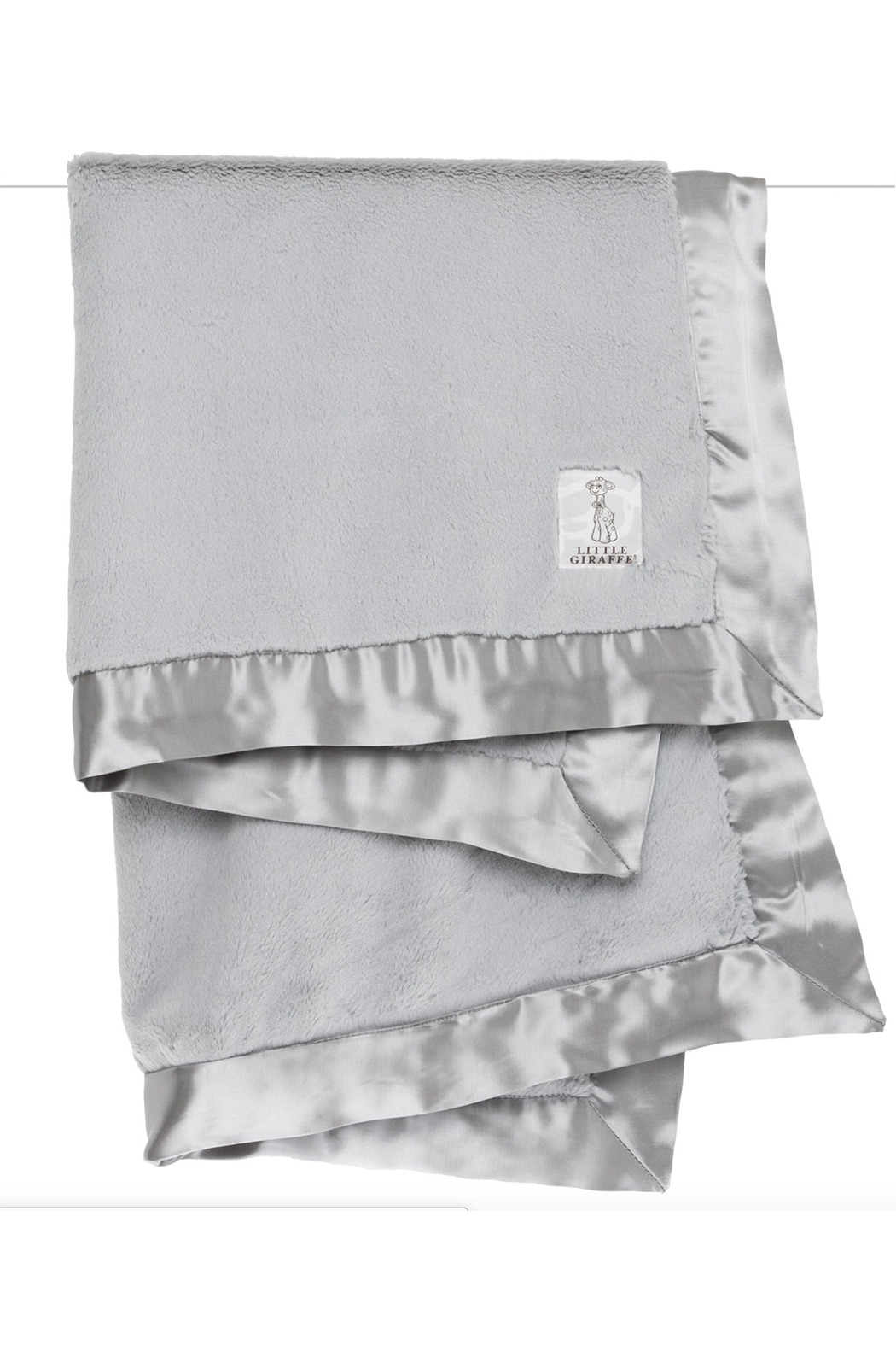 LITTLE GIRAFFE Luxe Baby Blanket - Front Cropped Image