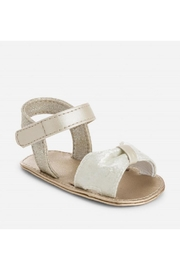 Mayoral Luxe Bow Sandal - Front cropped