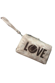Quilted Koala Luxe Clutch Beige Camo - Product Mini Image