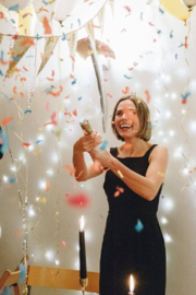Talking Tables  Luxe Confetti Cannon - Front full body