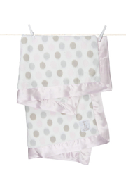 LITTLE GIRAFFE Luxe Dot Baby Blanket - Product Mini Image