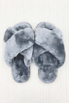 Ark & Co. Luxe Faux Fur Slippers - Product List Image