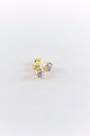 Luxe Gold Opal Studs - Product Mini Image