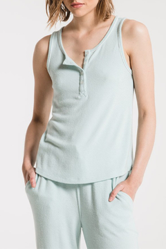 z supply Luxe Henley Tank - Product List Image