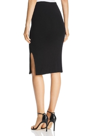 3 Dot Luxe-Knit Pencil Skirt - Front full body