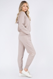 Whiteroom Cactus Luxe Knitted Hoodie - Front full body