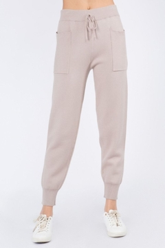 Whiteroom Cactus Luxe Knitted Jogger - Product List Image