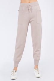 Whiteroom Cactus Luxe Knitted Jogger - Product Mini Image