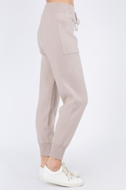 Whiteroom Cactus Luxe Knitted Jogger - Front full body