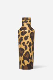 Corkcicle Luxe Leopard Canteen-16oz - Front cropped