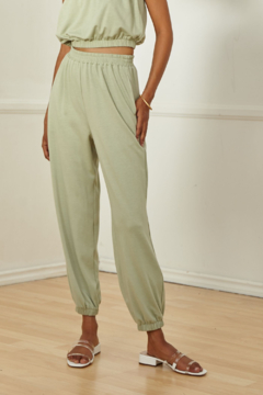 SAGE THE LABEL LUXE LOUNGE KNIT PANTS - Product List Image