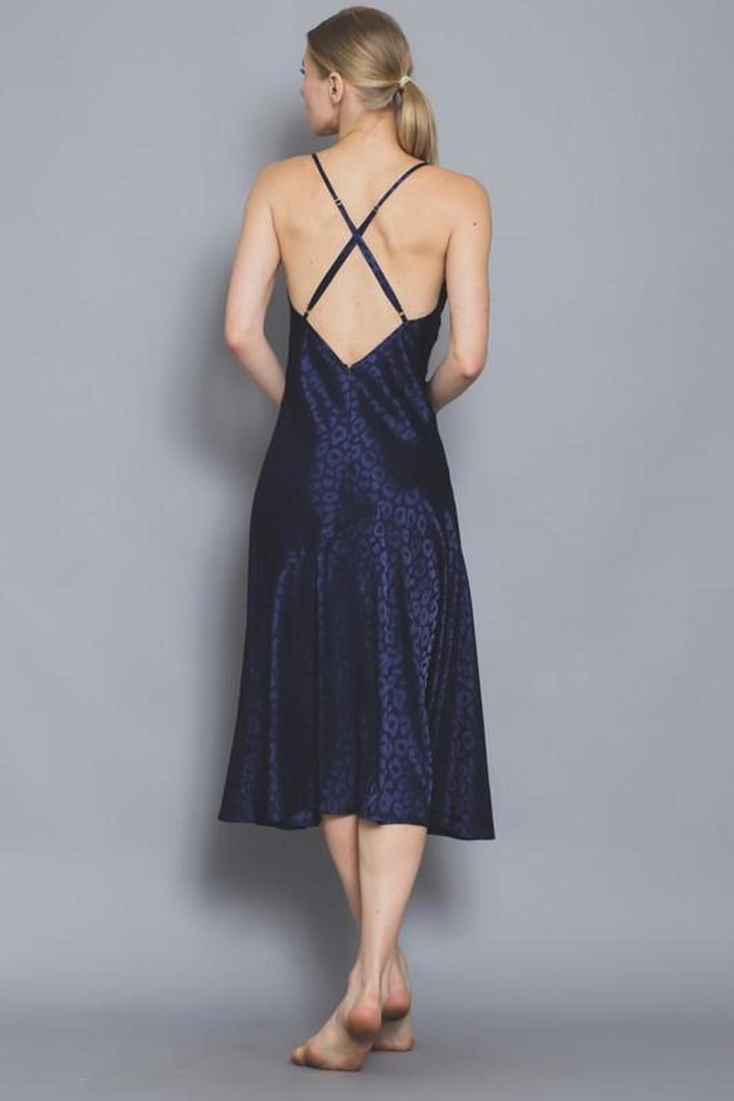 Luxe Night Moves Dress - Front Full Image