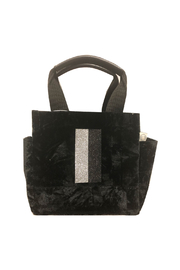 Quilted Koala LUXE NORTH SOUTH: CRUSHED VELVET - Front cropped