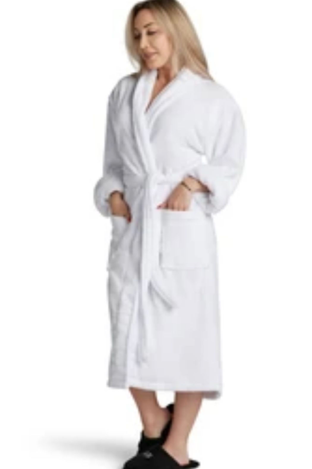 Los Angeles Trading Co.  Dress Like Coco Luxe Robe - Front Full Image