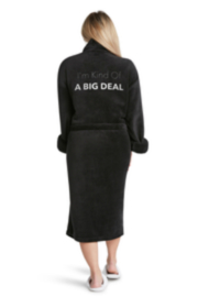 Los Angeles Trading Co.  Kind of a Big Deal Luxe Robe - Front cropped