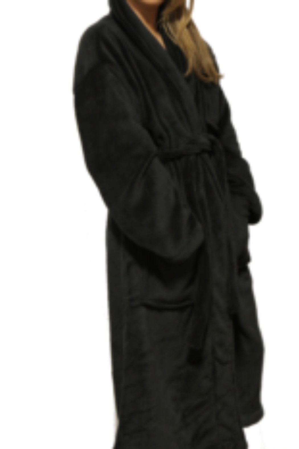 Los Angeles Trading Co.  Kind of a Big Deal Luxe Robe - Front Full Image