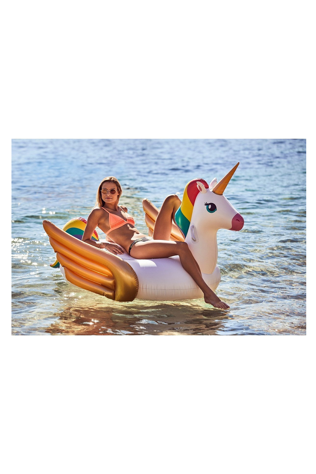 SunnyLife Luxe Ride-On Float - Front Full Image