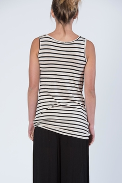 Luxe Sleeveless Stripe Top - Alternate List Image