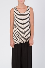 Luxe Sleeveless Stripe Top - Product Mini Image