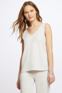 Nic + Zoe Luxe stretch Sleek Lines Tank Top. - Product List Image