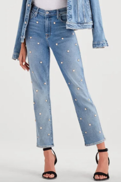 7 For all Mankind Luxe Vintage Pearl Straight Leg - Product List Image