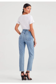 7 For all Mankind Luxe Vintage Pearl Straight Leg - Alternate List Image