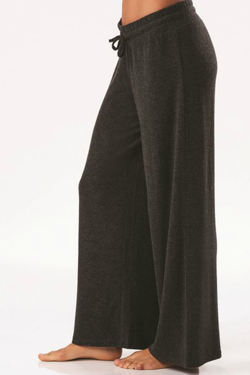 Charlie Paige Luxe Wide Leg Pant - Side Cropped Image