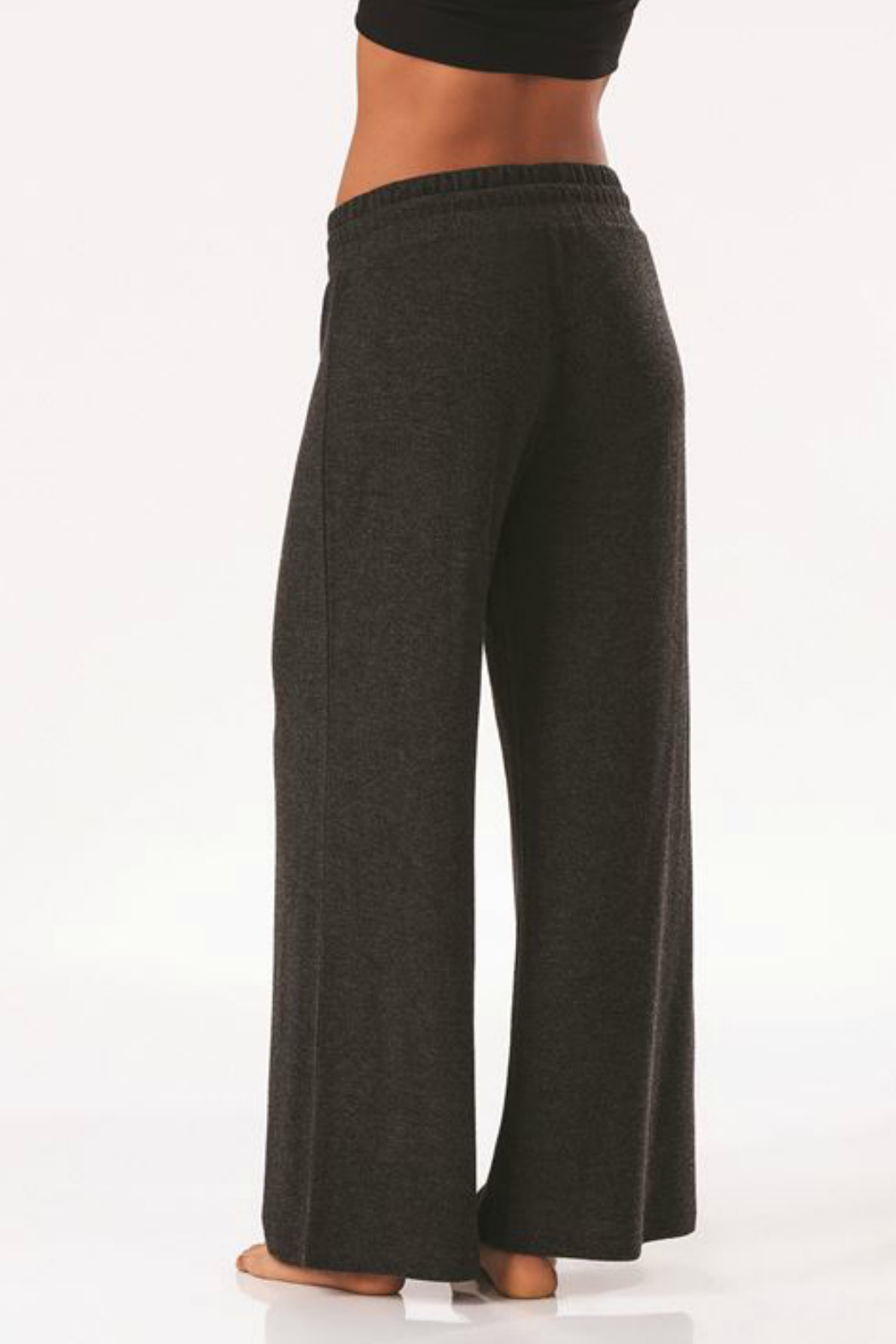 Charlie Paige Luxe Wide Leg Pant - Back Cropped Image