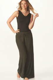 Charlie Paige Luxe Wide Leg Pant - Front full body