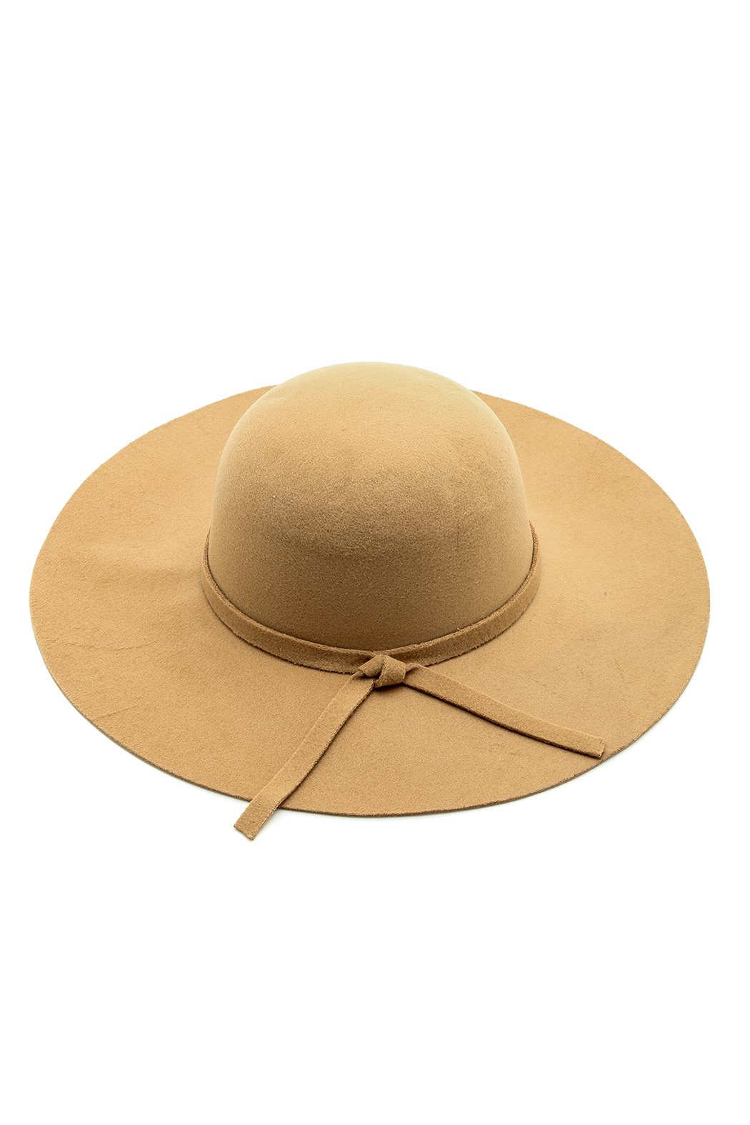 Luxe Wool Wide Brimmed Hat - Main Image