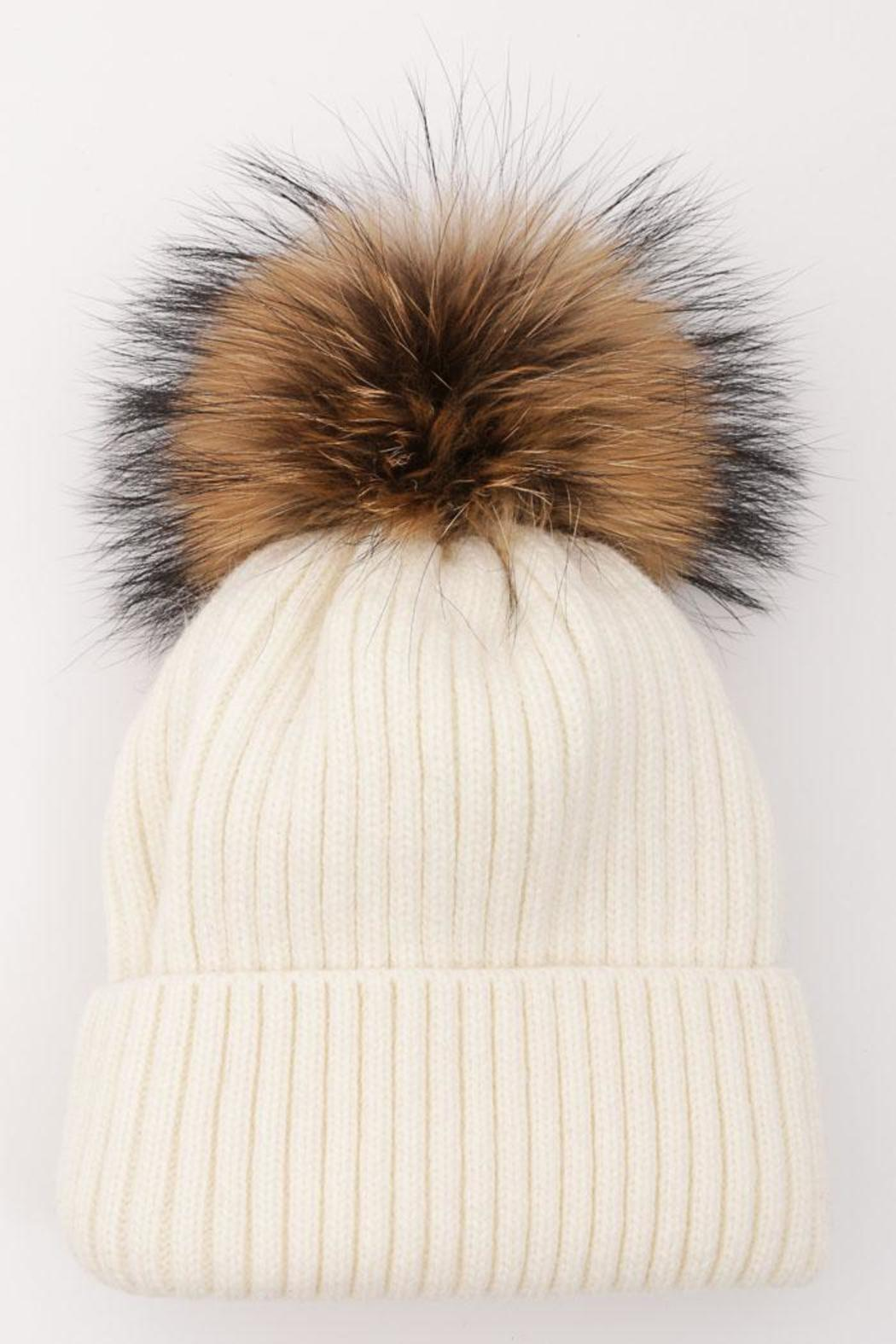 d0f5bff0e9b Luxe Boutiques Fur Pom-Pom Hat from Massachusetts — Shoptiques