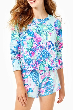 Lilly Pulitzer  Luxletic Alex Crewneck Pullover - Product List Image
