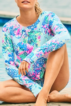 Lilly Pulitzer  Luxletic Alex Crewneck Pullover - Alternate List Image