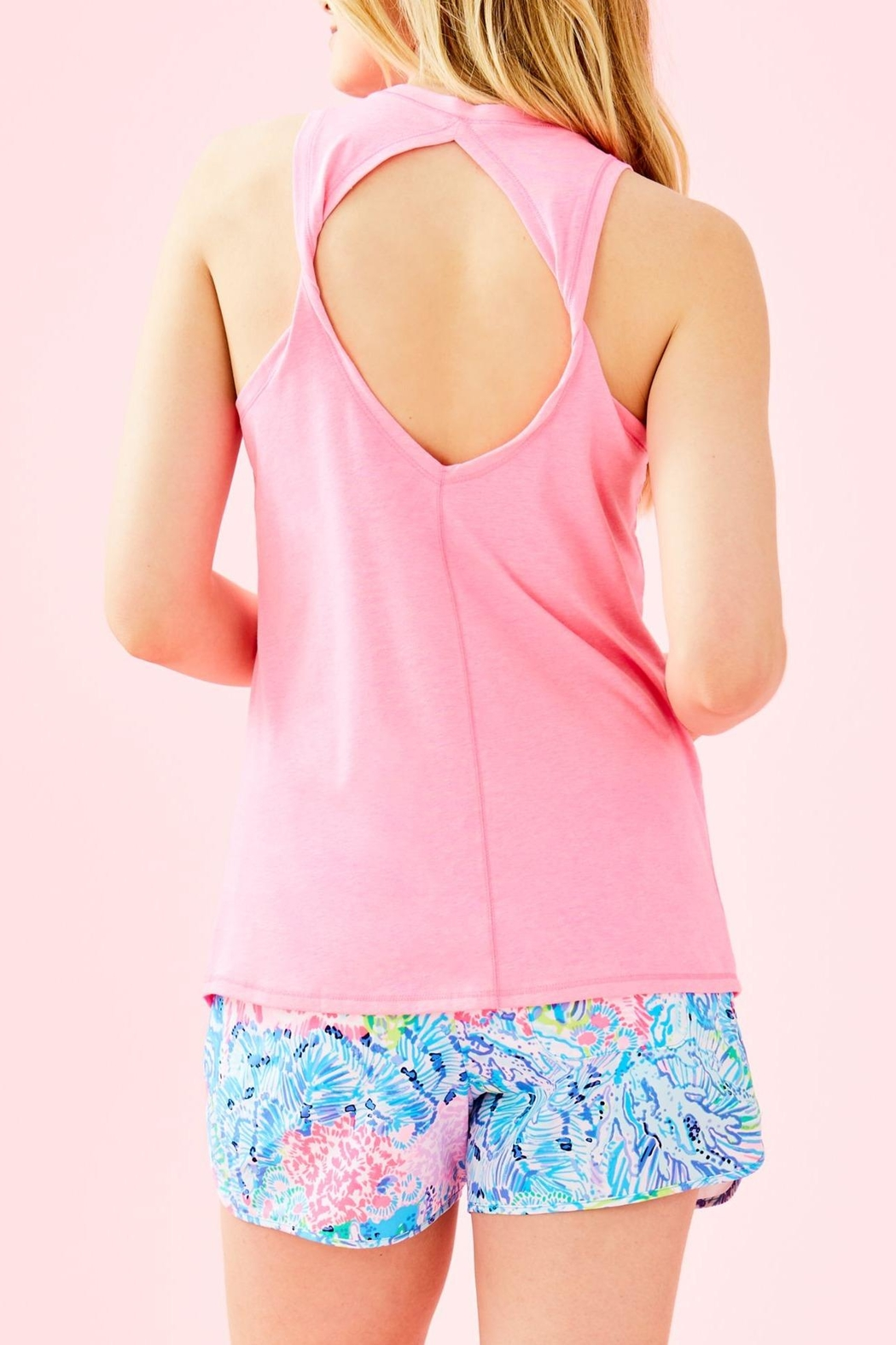 Lilly Pulitzer Luxletic Aubra Tank - Front Full Image