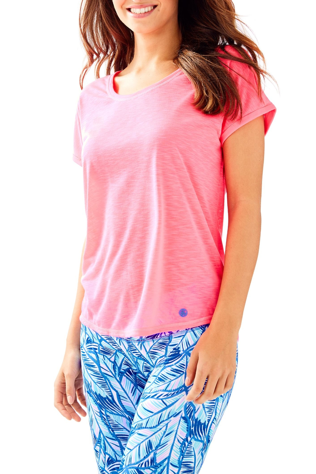 Lilly Pulitzer Luxletic Bryana Tee - Main Image