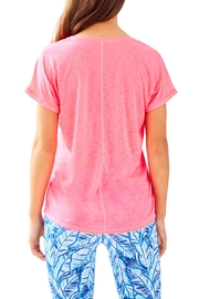 Lilly Pulitzer Luxletic Bryana Tee - Front full body