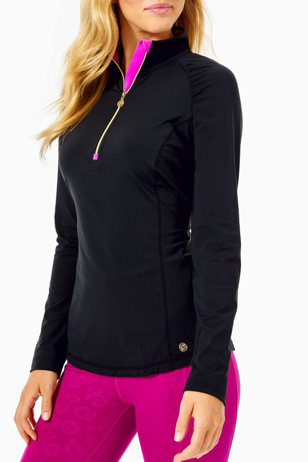 Lilly Pulitzer  Luxletic Justine Pullover UPF 50+ - Main Image