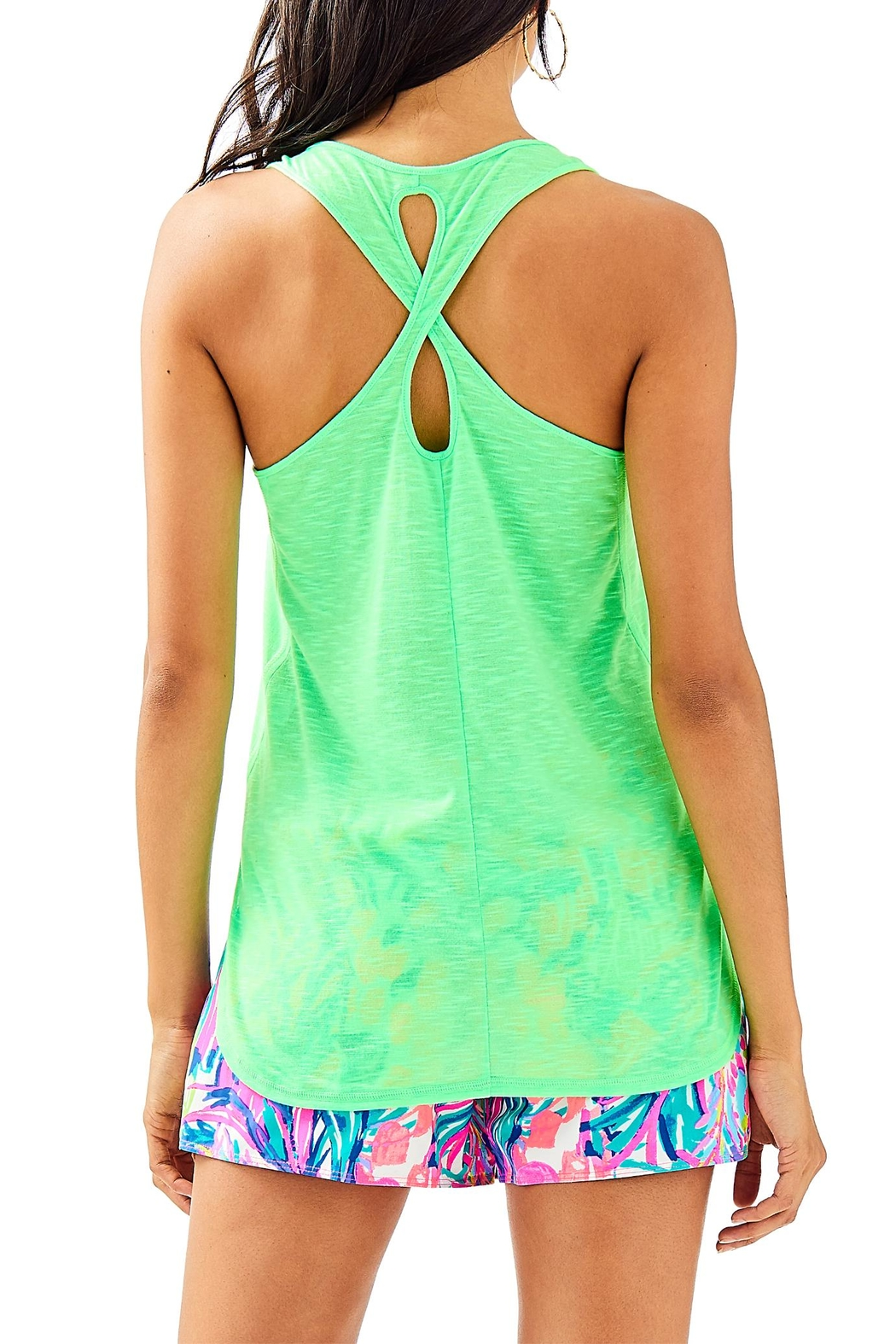 Lilly Pulitzer Luxletic Kai Tank - Front Full Image