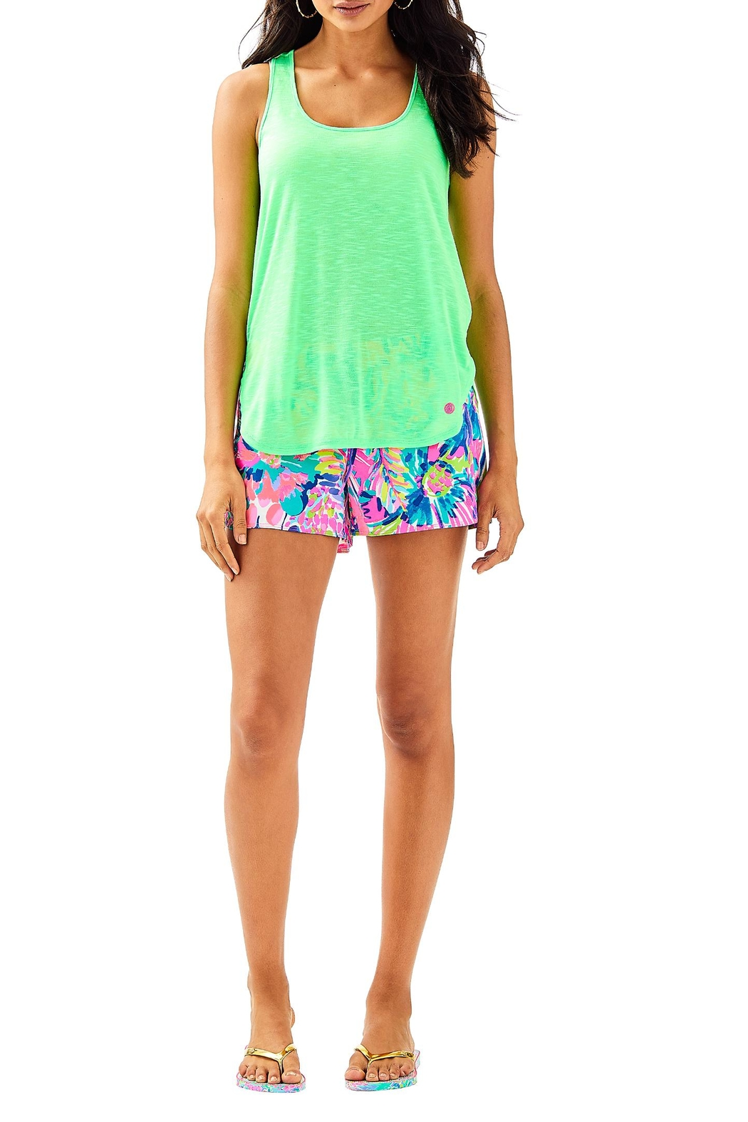 Lilly Pulitzer Luxletic Kai Tank - Side Cropped Image