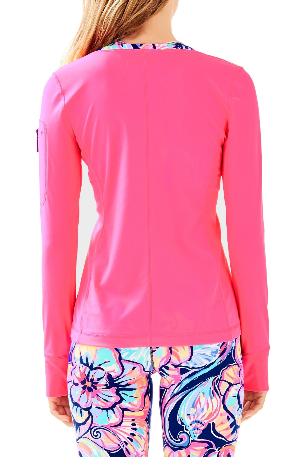 Lilly Pulitzer Luxletic Kona Sunguard - Front Full Image
