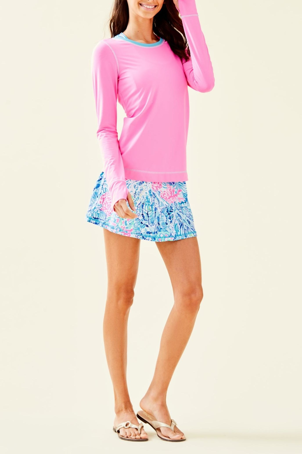 Lilly Pulitzer Luxletic Renay Sunguard - Side Cropped Image