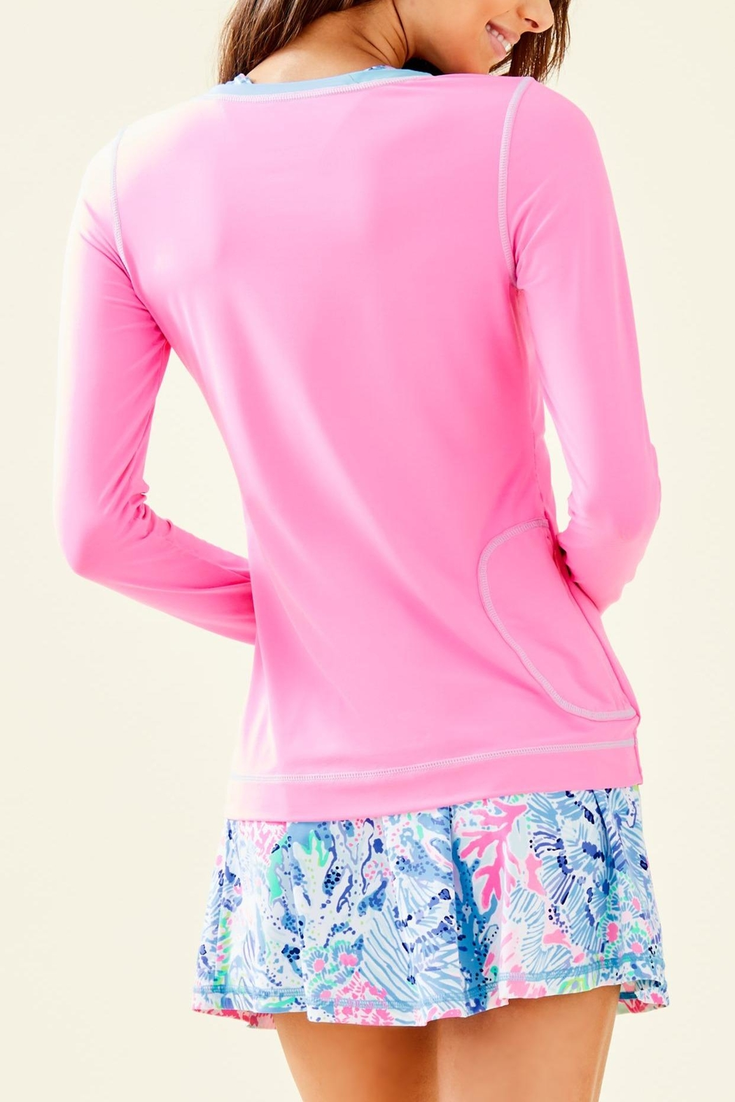 Lilly Pulitzer Luxletic Renay Sunguard - Front Full Image
