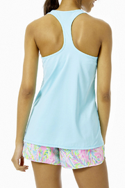 Lilly Pulitzer  Luxletic Tank Top UPF 50+ - Front full body