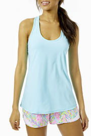 Lilly Pulitzer  Luxletic Tank Top UPF 50+ - Front cropped